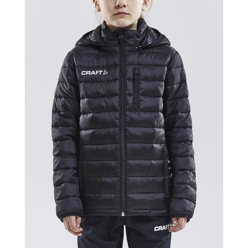 Voetbal met Passie jacket Isolate junior (zwart)