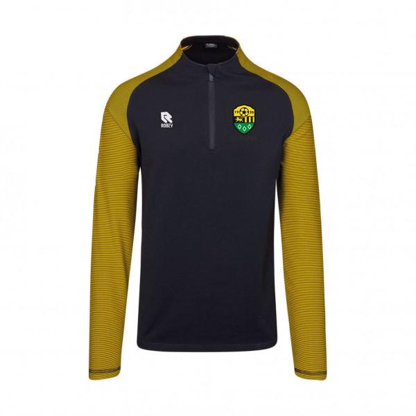 RKSV Halsteren zip sweater geel