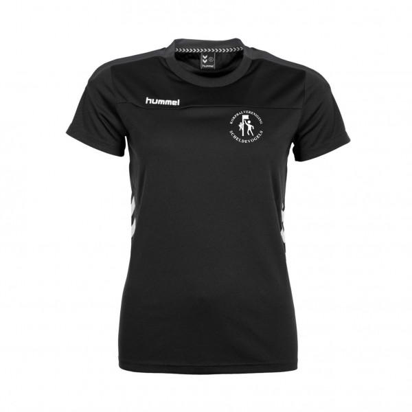 Scheldevogels trainingsshirt zwart
