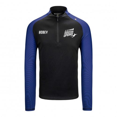 Soccer Upgrade zip sweater (model Performance)