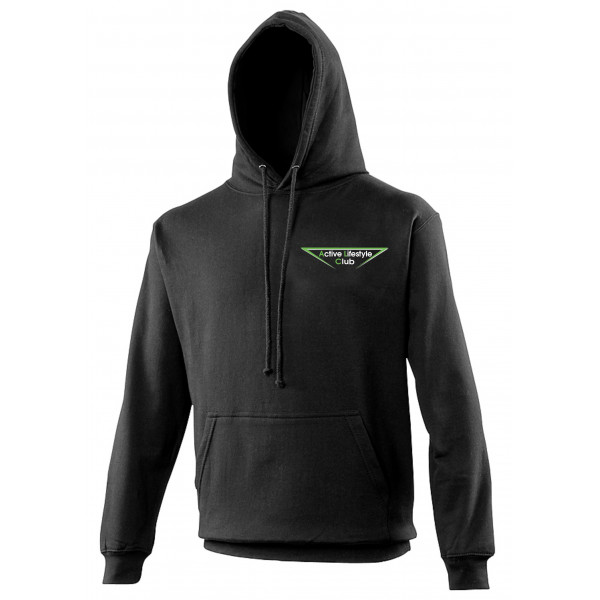 Heren cool hoodie black