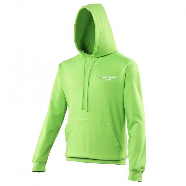 Heren cool hoodie lime