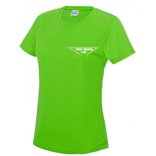 Dames Cool T electric/green