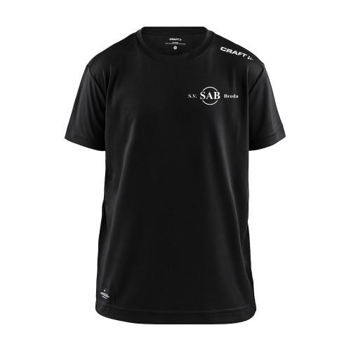SAB shirt Community senior (zwart)