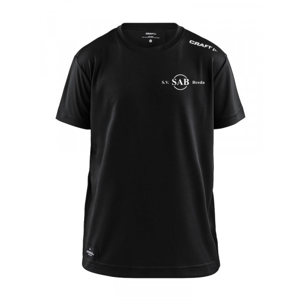 SAB shirt Community junior (zwart)