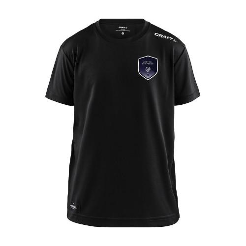 Voetbal met Passie shirt Community junior (zwart)