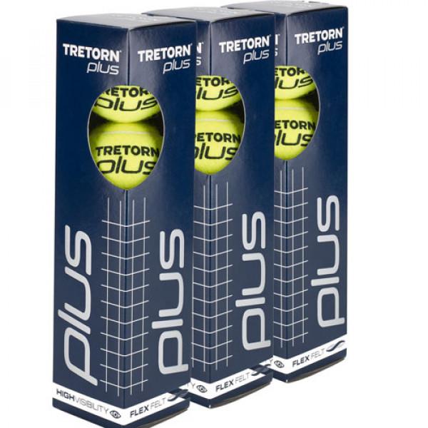 Tennis Vereniging Roosendaal tennisballen tretorn plus 4tin