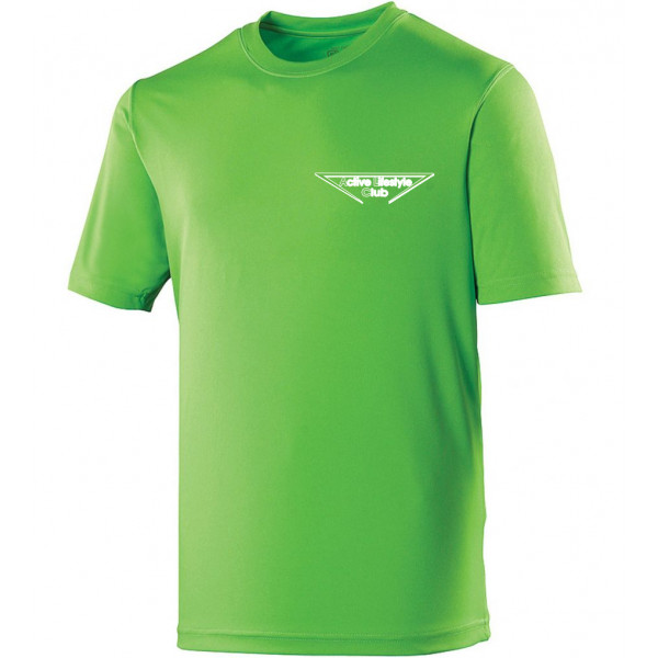 Heren Cool T  Lime green